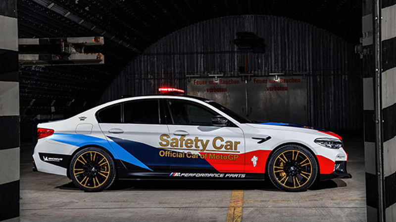 Das neue BMW M5 MotoGP Safety Car
