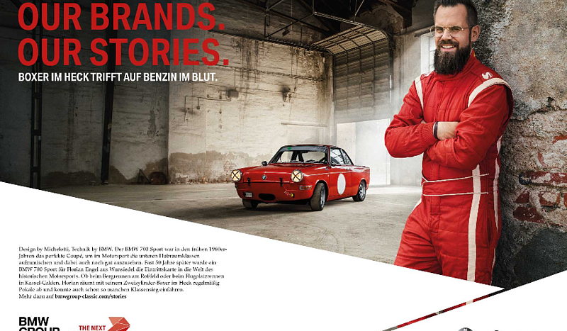 BMW Group Classic gewinnt den German Design Award 2020 für ihre Kampagne Our Brands. Our Stories.